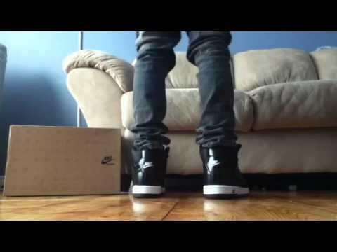 94cc26dba02a Nike Air Prestige 3 High Sl On Feet - YouTube