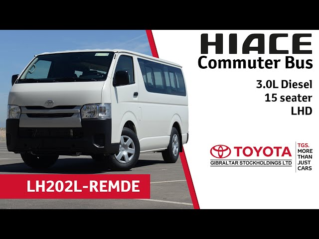 4049bf54aa Toyota Hiace Commuter Bus 3.0L Diesel - 15 seater - LHD - YouTube