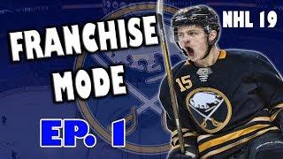 NHL 19 Buffalo Sabres Franchise SERIES PREMIERE EP. 1