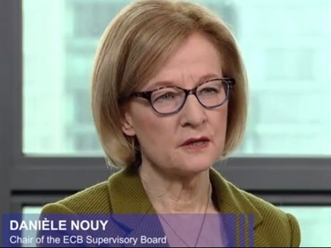 Interview with ECB's Nouy on first banking supervision annual report