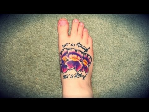 How to take care of your new tattoo youtube for New tattoo care