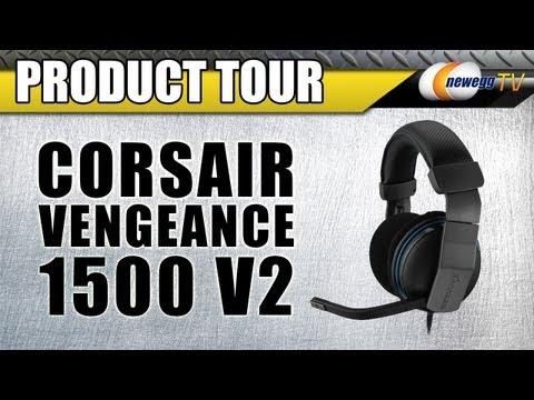 cd27b9969fd Corsair Vengeance 1500 v2 Circumaural Dolby 7.1 Gaming Headset - Newegg.com