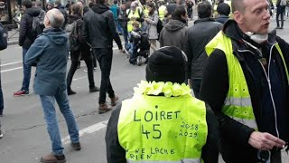 Acte 16  żółte kamizelki Paryż