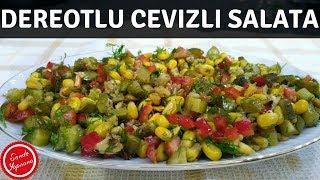 Dereotlu Salata Tarifi-Farklı Salata Tarifleri-Sende Yapsana