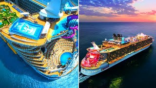 BIGGEST Cruise Ships On Earth!