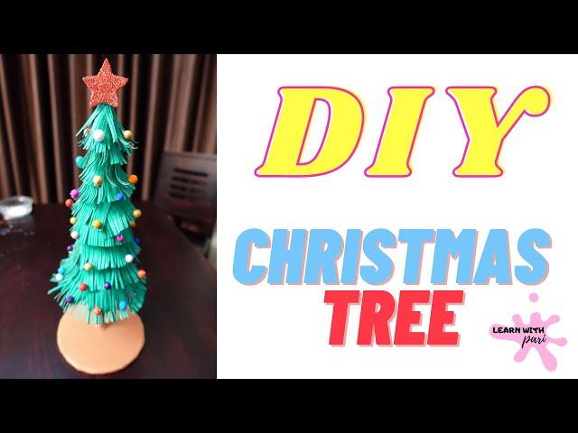 Christmas tree making  | DIY | merry Christmas | LearnWithPari