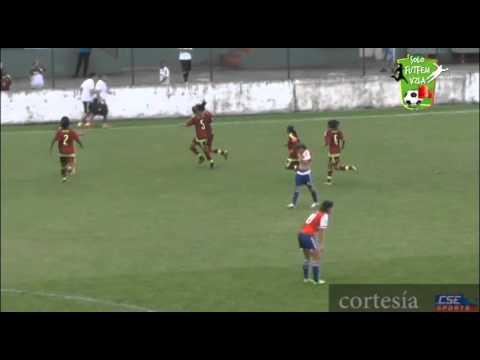 Resumen: Venezuela 4-1 Paraguay | Campeonato Sudamericano Femenino Sub 20. Brasil 2015