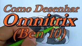 """Como Desenhar Omnitrix (Ben 10) """"Desenha fácil"""""""