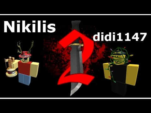 Playing With  Didi1147 And  Nikilis/Creator Murder Mystery 2