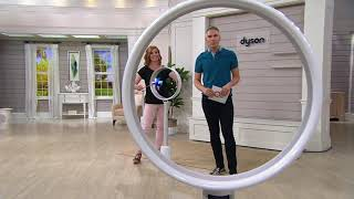Dyson AM08 Air Multiplier Bladeless Oscillating Pedestal Fan on QVC