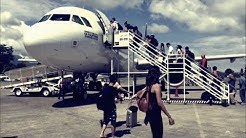 PHILIPPINE AIRLINES A320 | Return flight from Dumaguete with Subscribers