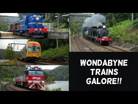 Sydney Trains Vlog 1286: Wondabyne Part 21