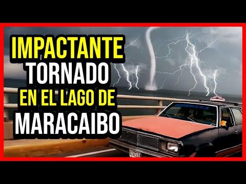INCREIBLE! Gran Tornado En El Lago De Maracaibo