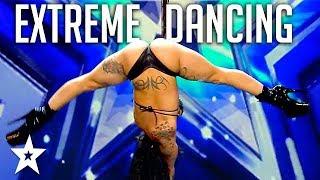 EXTREME POLE DANCER Shocks Audience on Spain's Got Talent 2018 | Got Talent Global