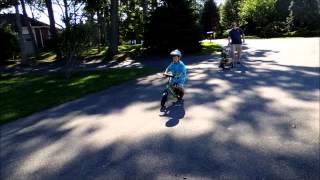 7 year old Strider 16 Balance Bike