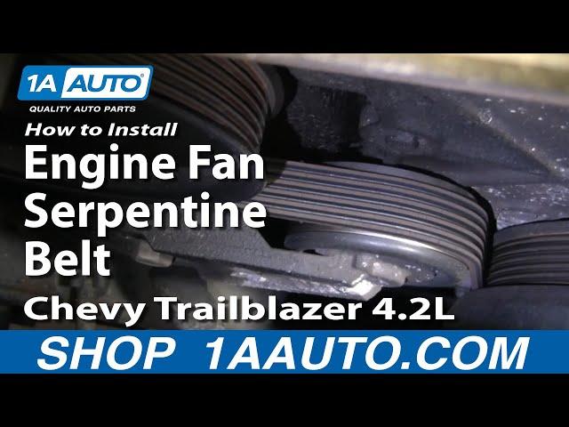 How to Replace Serpentine Belt 02-06 Chevy Trailblazer | 1A Auto1A Auto