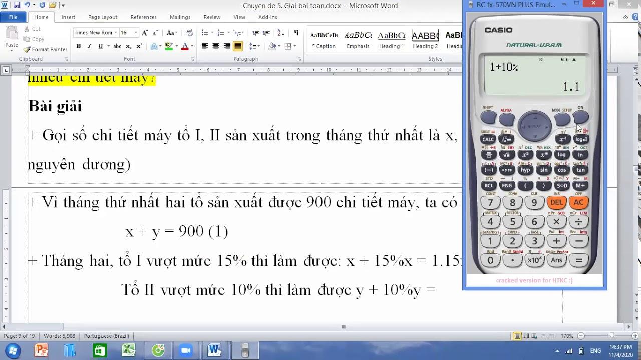 Toán 9. Chuyên đề: Giải bài toán bằng cách lập pt, hệ pt (buổi 3)