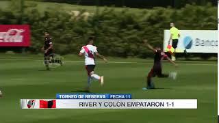 El gol de Eric Meza ante la reserva de River que recorrió el país