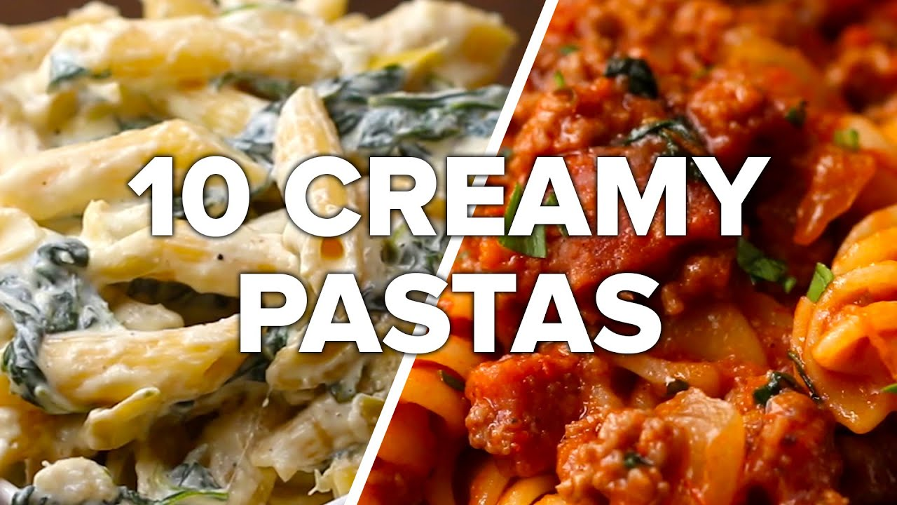 10 Creamy Satisfying Pasta Dishes Youtube