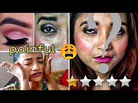 I WENT TO THE WORST REVIEWED MAKEUP ARTIST  INDIA, KOLKATA - CHALLENGE GONE VERY WRONG, PAIN ALERT