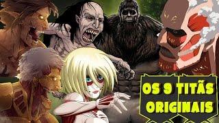 SHINGEKI NO KYOJIN: OS 9 TITÃS ORIGINAIS | Player Solo