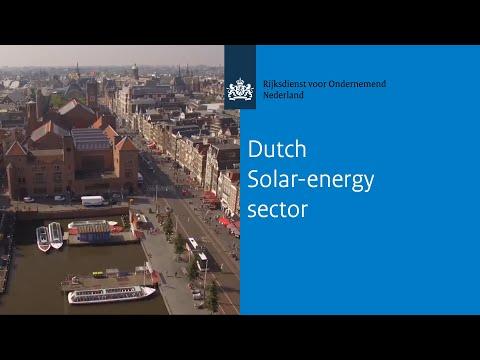 Dutch Solar-energy sector