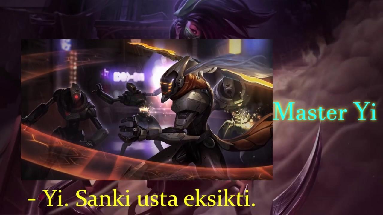 Aatrox'un İsyanı ve Diğer Şampiyonlara Öğütleri ! I League of Legends I Quaxanos I