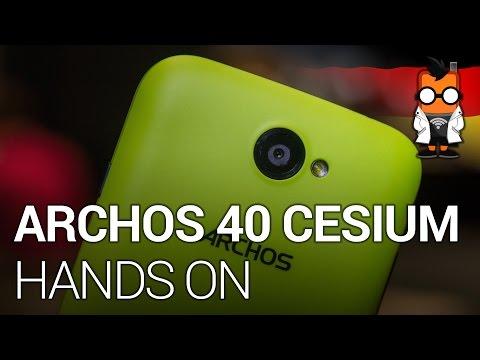 Archos 40 Cesium mit Windows Phone im Hands On (DEU)