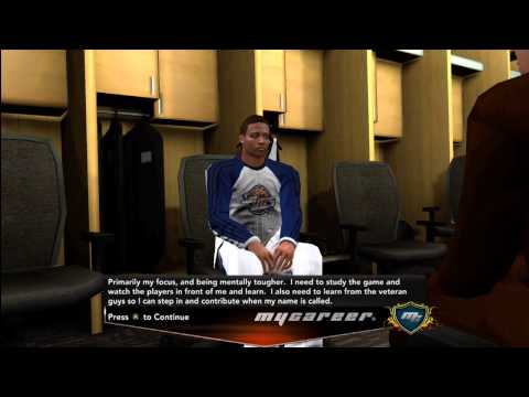 NBA 2K13 MyCAREER Ep.2 The Draft: Larry Bird Teachin
