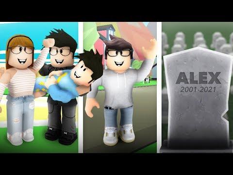 Birth to Death | Roblox: A Sad Bloxburg Movie | Alex Story