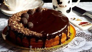 Бостонский кремовый торт — видео рецепт