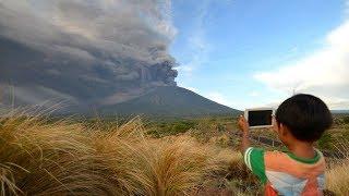Лахары Агунга. Извержение вулкана Агунг. Бали. Что произошло на нашей Планете 29 ноября 2017
