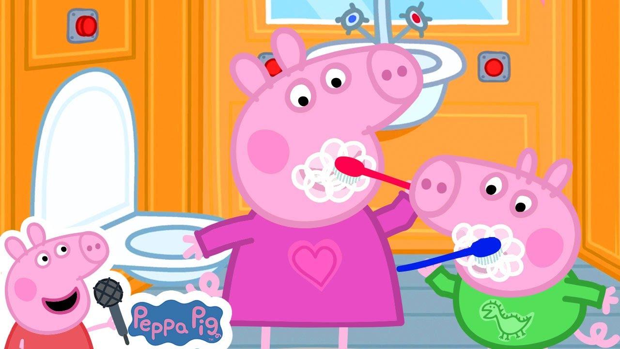 Let's Get Ready | Peppa Pig Songs | Peppa Pig Nursery Rhymes & Kids Songs