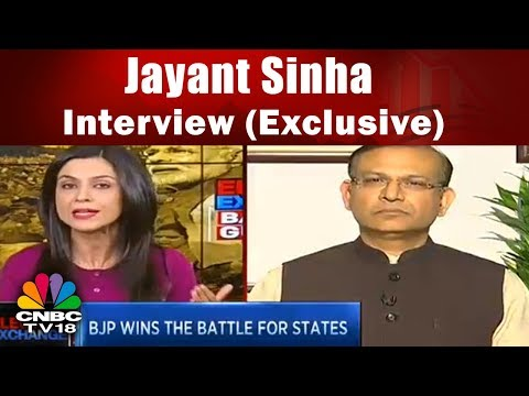 Jayant Sinha Interview (Exclusive)   Battle for Gujarat   Election Exchange   CNBC TV18