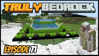 Iron Farm Is Finished & Channel Updates! - Truly Bedrock (Minecraft Survival Let's Play) Episode 71