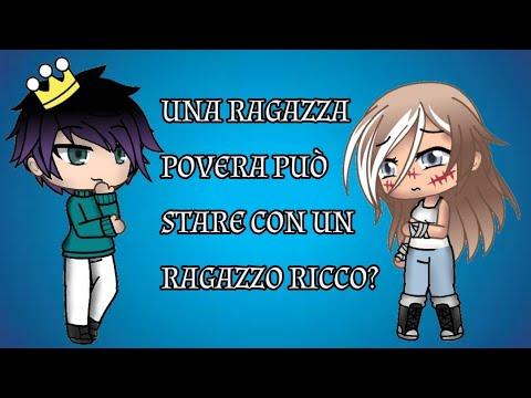 """""""Una Ragazza POVERA Può Stare Con Un Ragazzo RICCO?"""" [ep1] // Gacha Life ITA //"""