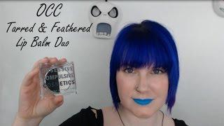 Obsessive Compulsive Cosmetics Tarred & Feathered Color Correcting Lip Balm Duo