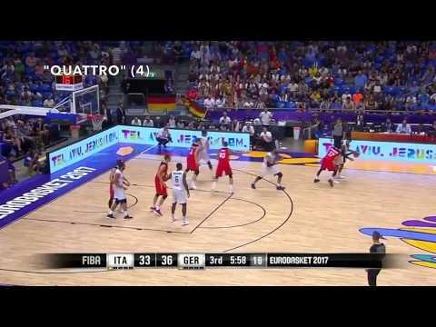 Italy Post-up Sets (FIBA EuroBasket 2017)