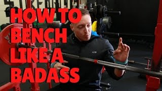 Download Lagu How To Bench Press Like a Badass | Mobility, Positioning & Lat Activation mp3
