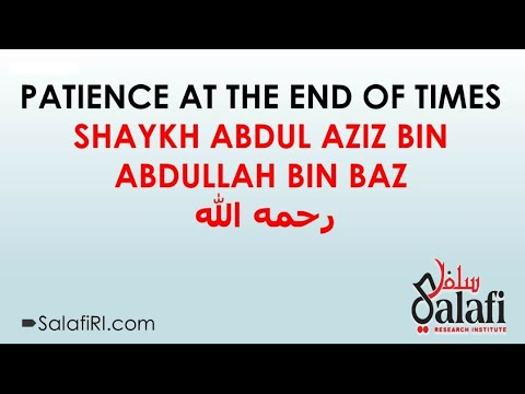 Patience At The End Of Time