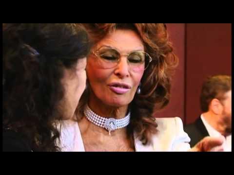 M F Hussain at Damiani's 'Sophia Loren's jewelry collection' launch at Blue Salon Qatar