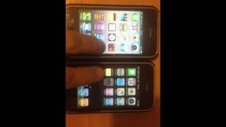 Тест 2 прошивки IPhone