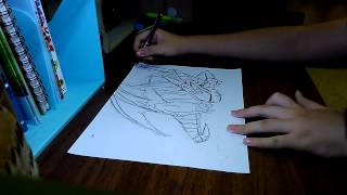Drawing Maplestory-Mir The Dragon