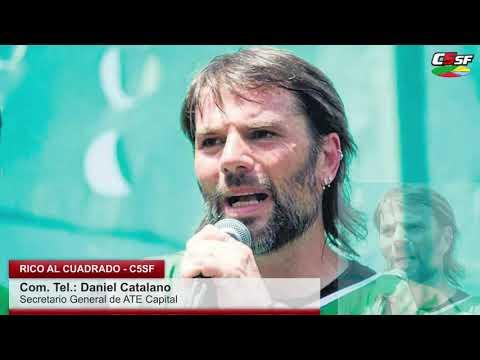 Catalano: No estoy obligado a enamorarme de Massa