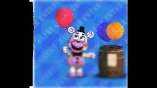 Funtime Freddy plush dying but when he dies it makes the roblox death sound