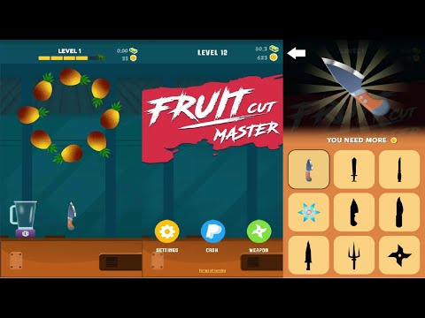 Fruit Cut Master Android Gameplay