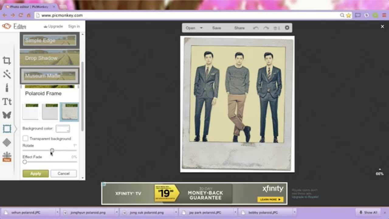 KIY: Kpop Polaroid Room Decor - YouTube