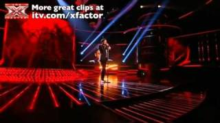 Matt Cardle sings Bleeding Love - The X Factor Live show 4 - itv.com/xfactor