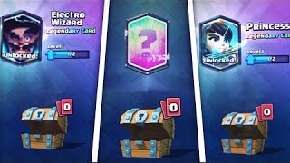 TOP 5 | LEGENDARY ON FREE CHESTS IN CLASH ROYALE! | Juanjoeltrol