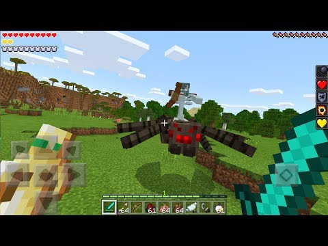 New Mutant Mobs in Minecraft PE 1.2! (Minecraft Bedrock Edition)